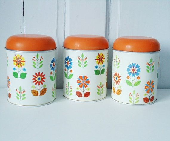 17 best images about vintage canisters on pinterest