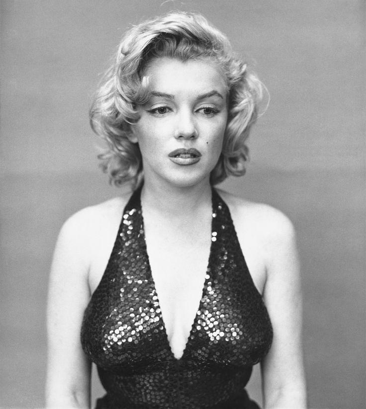 Richard Avedon Exhibit at SFMOMA-- Marilyn Monroe