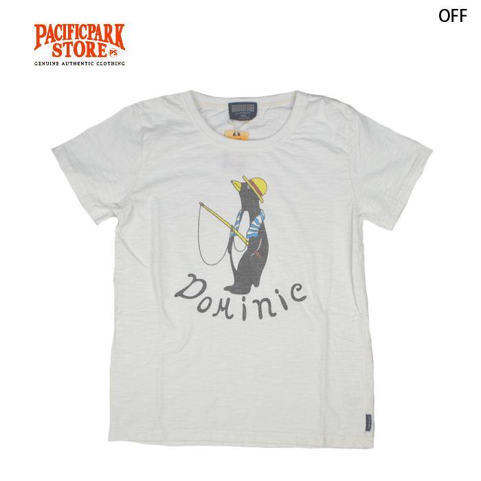 【楽天市場】PACIFIC PARK STORE パシフィックパークストア Dominieロゴ ペンギンTシャツ 1colors (PPS-18330-M) SS15MTT レディース ユニセックス ロゴプリント Tシャツ 半袖 クルーネック 丸首 白Tシャツ 綿素材 Mサイズ Lサイズ お揃い ペア:UNITED PARKS
