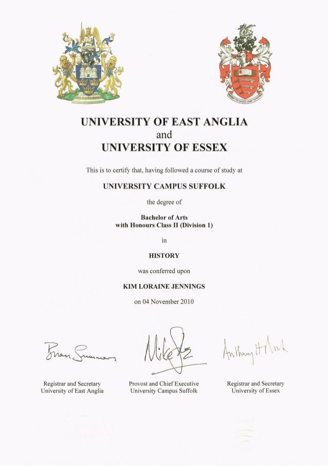 certificate degree