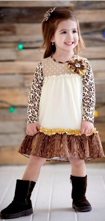 MM Golden Holiday Leopard Dress Now in Stock