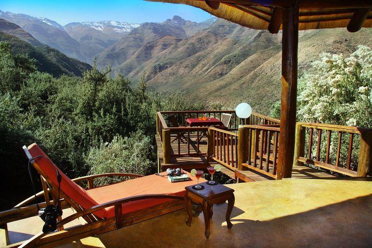 Mountain Lodge Balcony