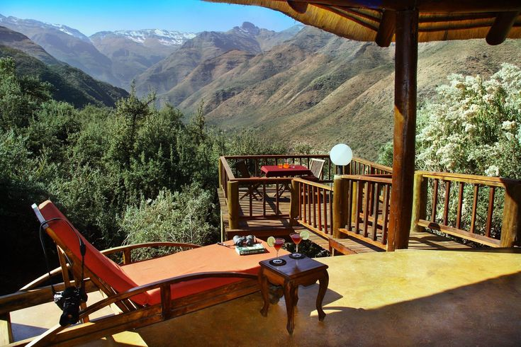Mountain Lodge Balcony