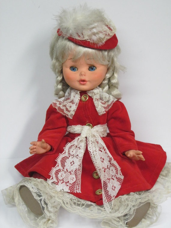 Vintage Furga Doll From the 1960's Made In Italy by MyAlexasStore