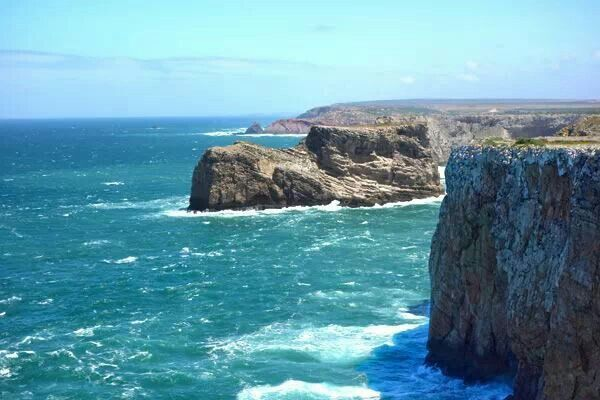 Cape Sagres, Portugal. The geological end of Europe