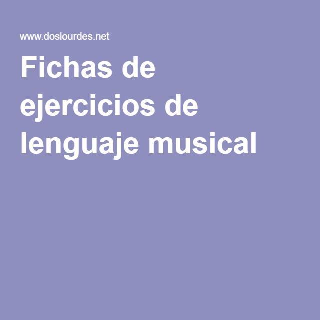 Fichas de ejercicios de lenguaje musical                                                                                                                                                      Más