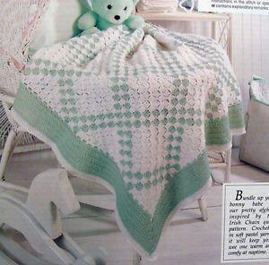 Irish Baby Blanket Knitting Pattern : Baby afghan crochet patterns, Baby afghan crochet and Baby afghan patterns on...