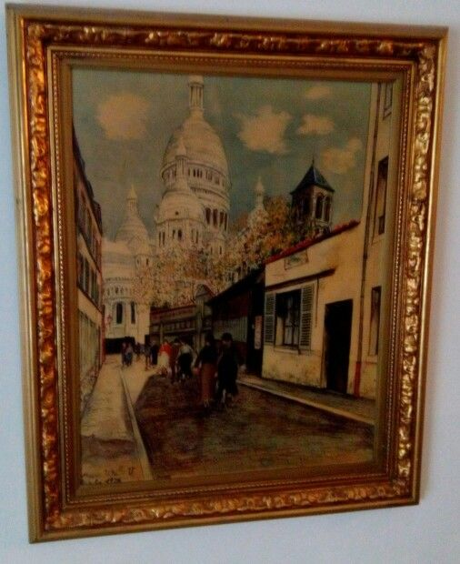 Maurice Utrillo (French: [mɔʁis ytʁijo]), born Maurice Valadon (26 December 1883 – 5 November 1955), was a French painter who specialized in cityscapes. Born in the Montmartre quarter of Paris, France, Utrillo is one of the few famous painters of Montmartre who was born there.