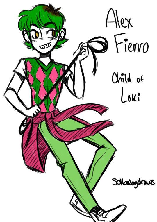 I Love Alex Fierro