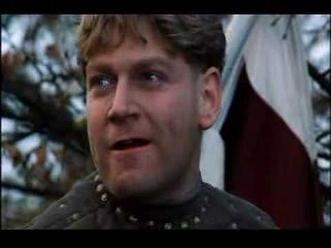 VIDEO.  Henry V's speech at the Battle of Agincourt, fought on Saint Crispin's day (October 25th)    This should really also go under Read These ... everyone should read this play, just for this speech alone.