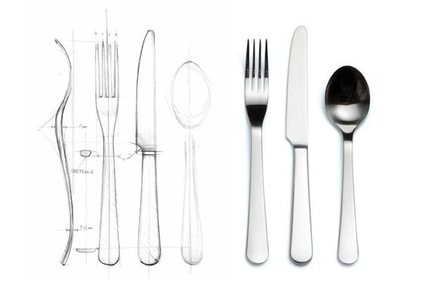 From design to the finished article. #davidmellor #chelsea #cutlery #corinmellor