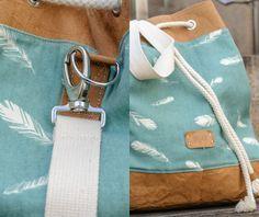 pigugi: Meine Tasche aus Snap Pap - was für ein tolles Material!