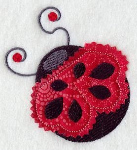 Machine Embroidery Designs at Embroidery Library! - Birds, Bugs, & Butterflies (Applique)