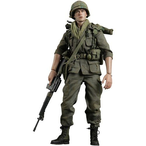 Platoon: Private Chris Taylor Movie Masterpiece Figure (Charlie Sheen)