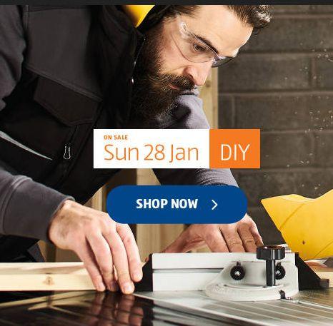 Aldi Special Buys Sunday 28th January 2018. DIY - http://www.olcatalogue.co.uk/aldi/aldi-special-buy.html
