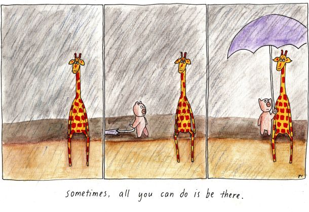 October 7, 2014 – Be there | Motivating Giraffe