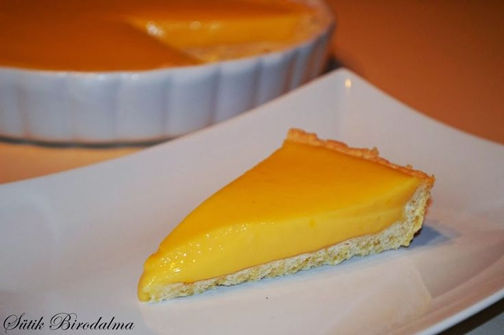 Lemon pie Citromos pite