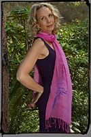 Sakura Blossom print on our Shades of Pink Scarf http://squeezed.ca/shop/category/scarves