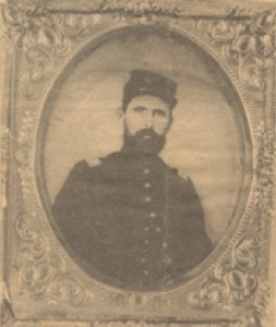 Medal of Honor Recipient: First Lieutenant Menomen O'Donnell, 11th Missouri Infantry - He was born in Drumboarty, Co. Donegal on 20th April 1830 and emigrated to the United States during the Famine, arriving in America in 1848.