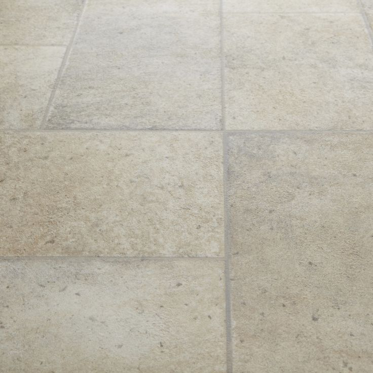 Goliath Alba Stone Tile Effect Vinyl Flooring Tile