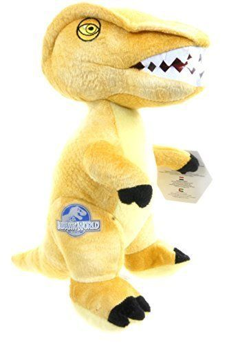 Brand New Jurassic World Park Yellow Stegoceras Dinosaur 11 Soft Toy by ENVI @ niftywarehouse.com #NiftyWarehouse #JurassicPark #Jurassic #Dinosaurs #Film #Dinosaur #Movies