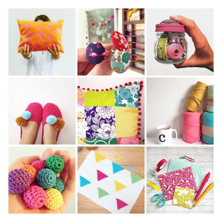 a colourful collection of handmade projects from the Make it Sewcial community of crafters and makers