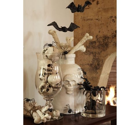bones vase filler pottery barn fun halloween decorationsholidays - Pottery Barn Halloween Decorations