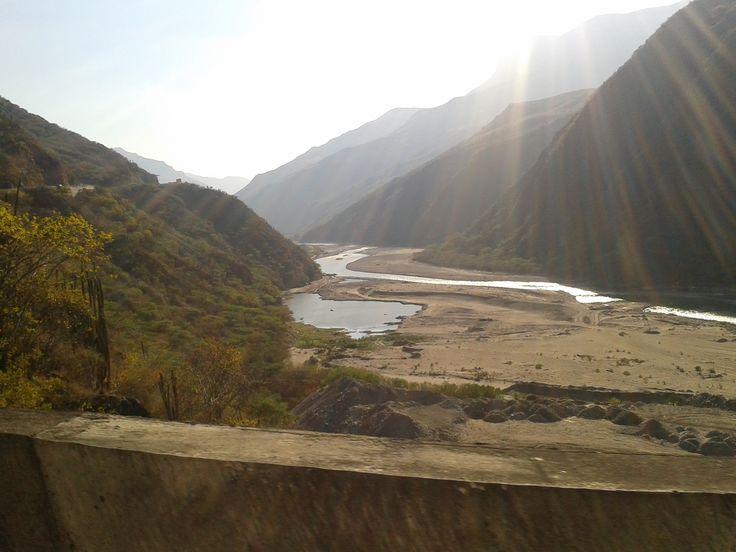 Se secó el rio chicamocha
