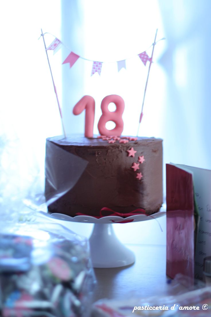 25 best ideas about 18 geburtstag torte on pinterest - Pinterest 18 geburtstag ...