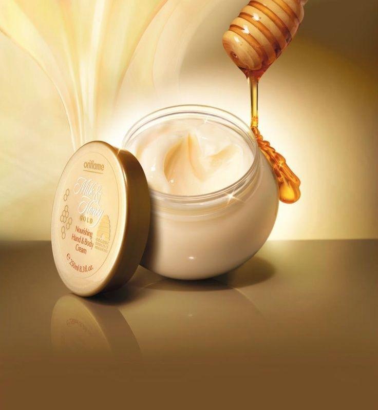 Oriflame Milk & Honey Gold Nourishing Hand & Body Cream