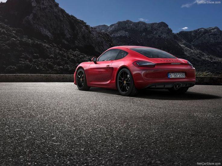 2015 Porsche Cayman GT4 Race Car Back Angle