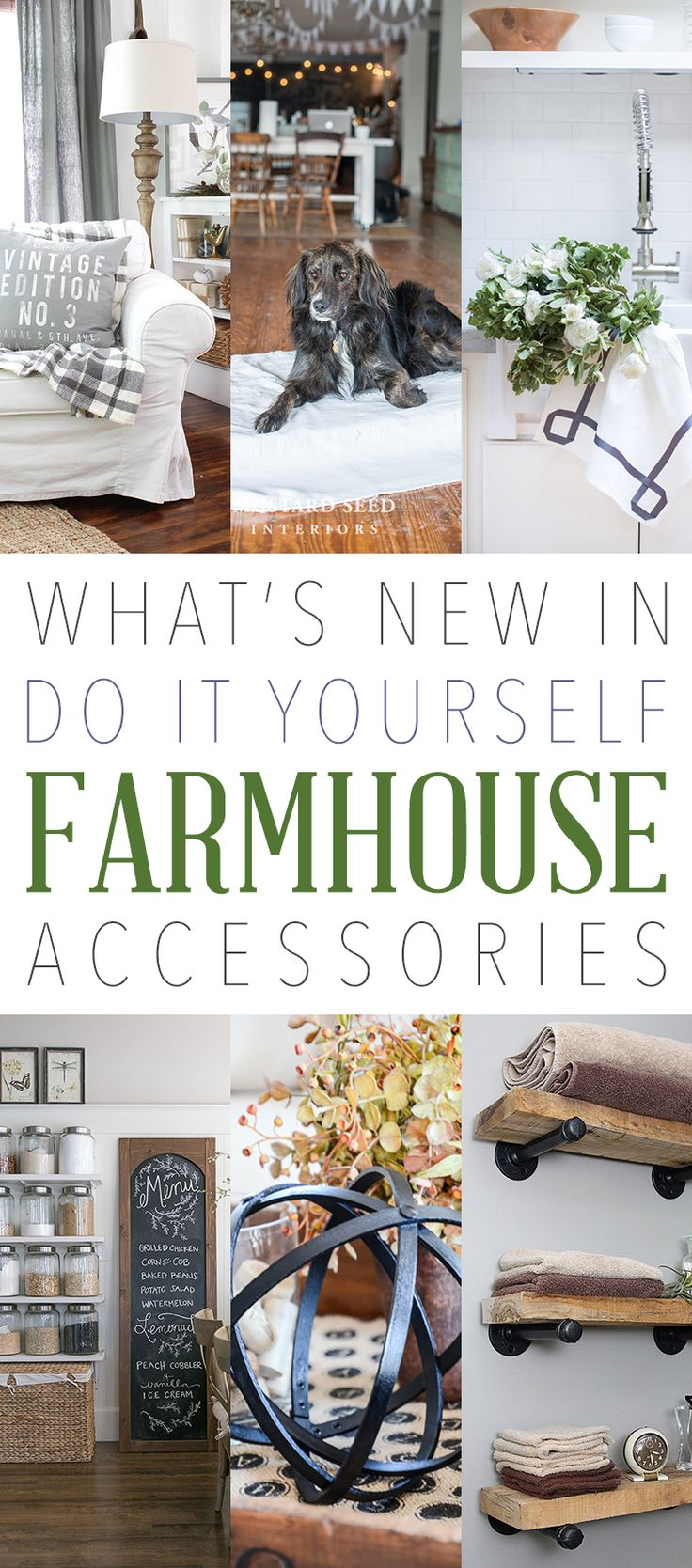 What's NEW in DIY Farmhouse Accessories - The Cottage Market