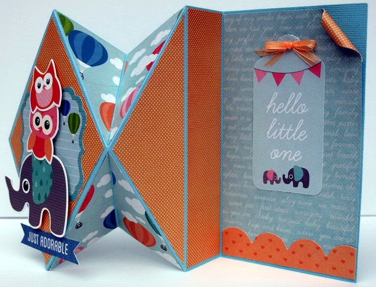 """Paper Play with Collette Mitrega Kaisercraft Official Blog """"Just Adorable"""" [view 2] using 'Little One' collection - Wendy Schultz ~ Baby Cards."""