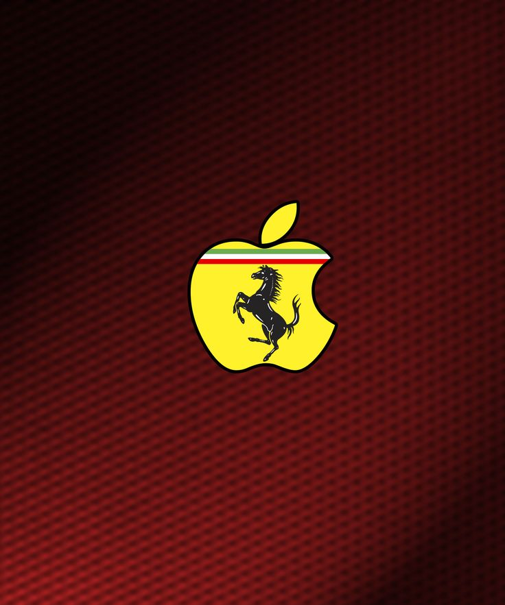 apple wallpaper | Ferrari Apple iPad Wallpaper | ipadflava.com