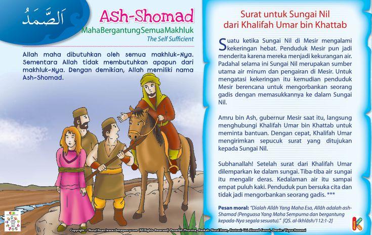 Kisah Asma'ul Husna Ash-Shomad