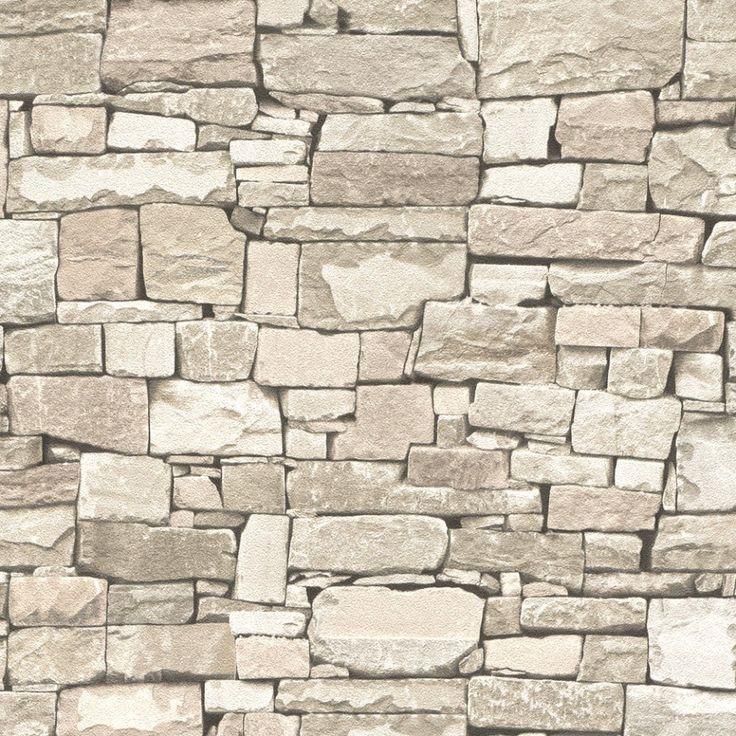 Mejores 88 im genes de papel pintado ladrillo y piedra en - Imitacion piedra pared ...