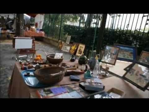 Porte de Vanves Flea Market 06/08/2011 - YouTube
