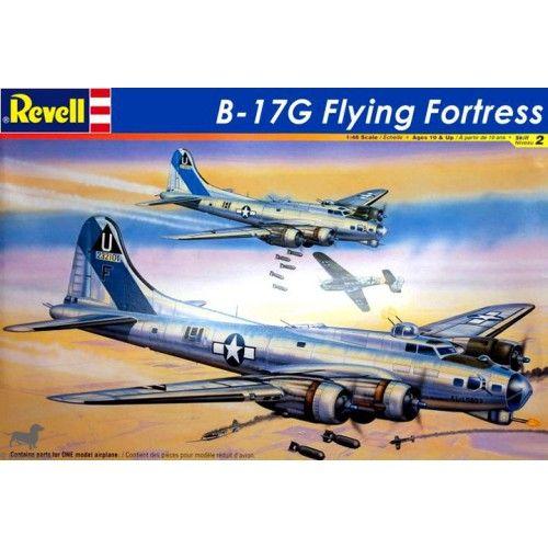 Maquette 1/48 -Boeing B-17G Flying Fortress - REVELL-MONOGRAM