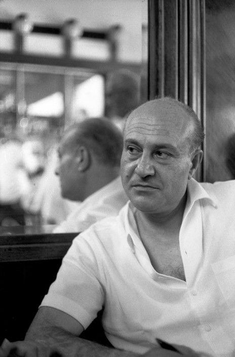 Henri Cartier-Bresson  Odysseus ELYTIS, Greek poet who won the Nobel Prize for Literature in 1979