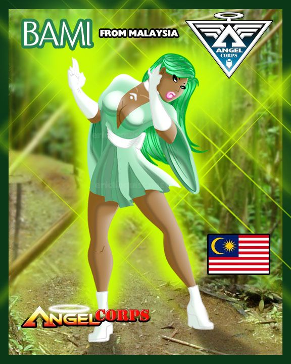 Sirena Dongo is a Malayasian synergenetic born in Kota Bharu within Kelantan who possesses the remarkable ability to materialize and control the movement and growth of super-fast-growing, super-har...
