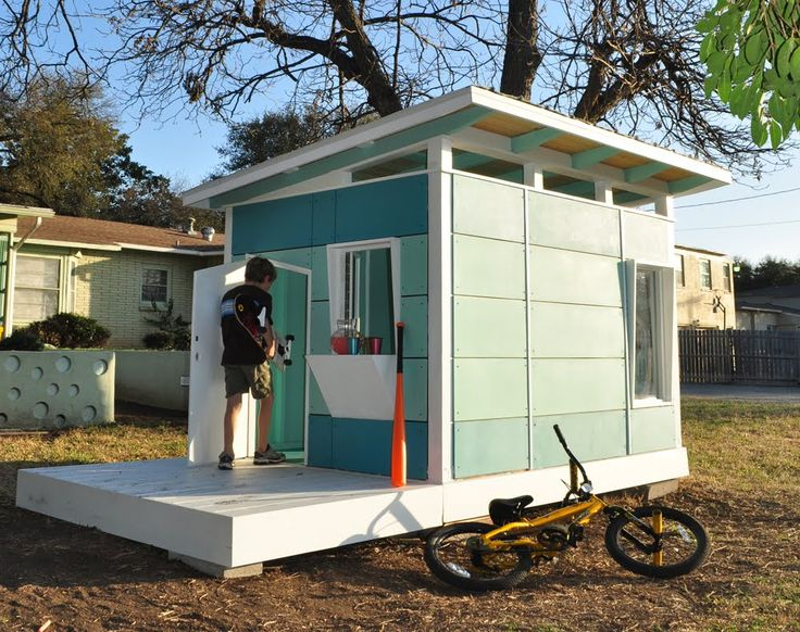 mid century modern playhouse for myka