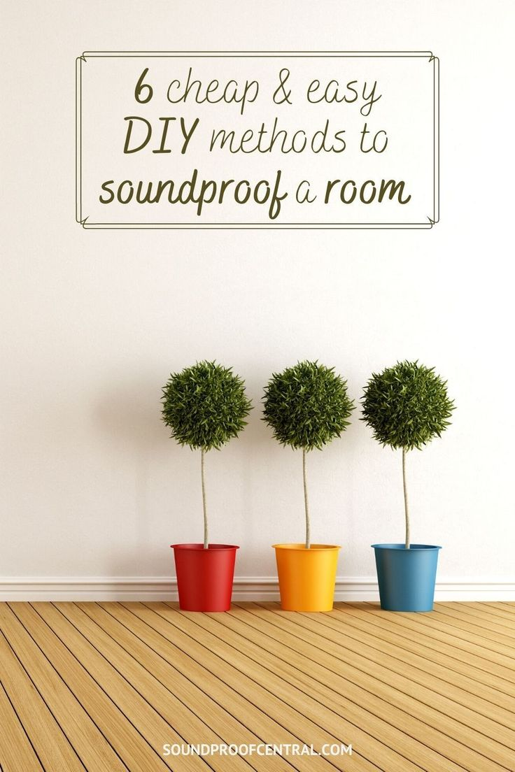 DIY Soundproofing A Room Cheaply - An Easy How To Guide in ...