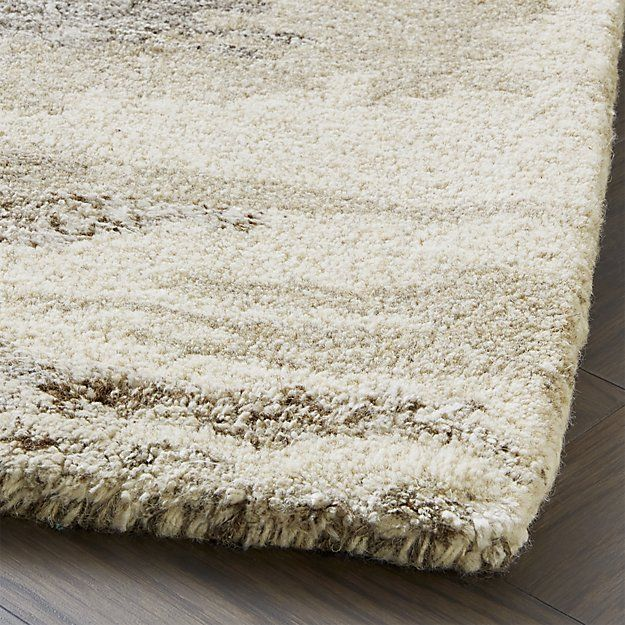 Birch Wool-Blend Rug | Crate and Barrel