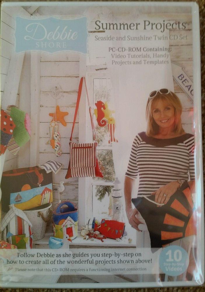 #DebbieShore #SummerProjects: #Seaside & #Sunshine #sewing #creative #arts #crafts