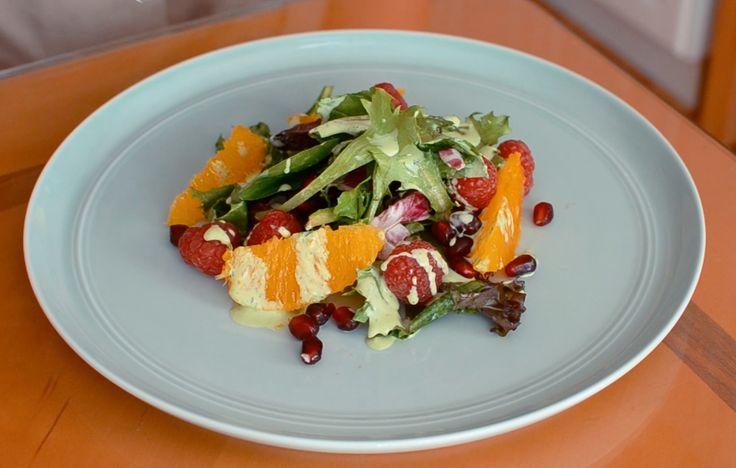 Tangy and Bright Green Goddess Salad!