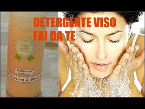 Detergente viso energizzante FATTO IN CASA!! - YouTube
