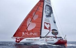 K.Line s'engage pour Mécénat chirurgie cardiaque avec Tanguy de Lamotte