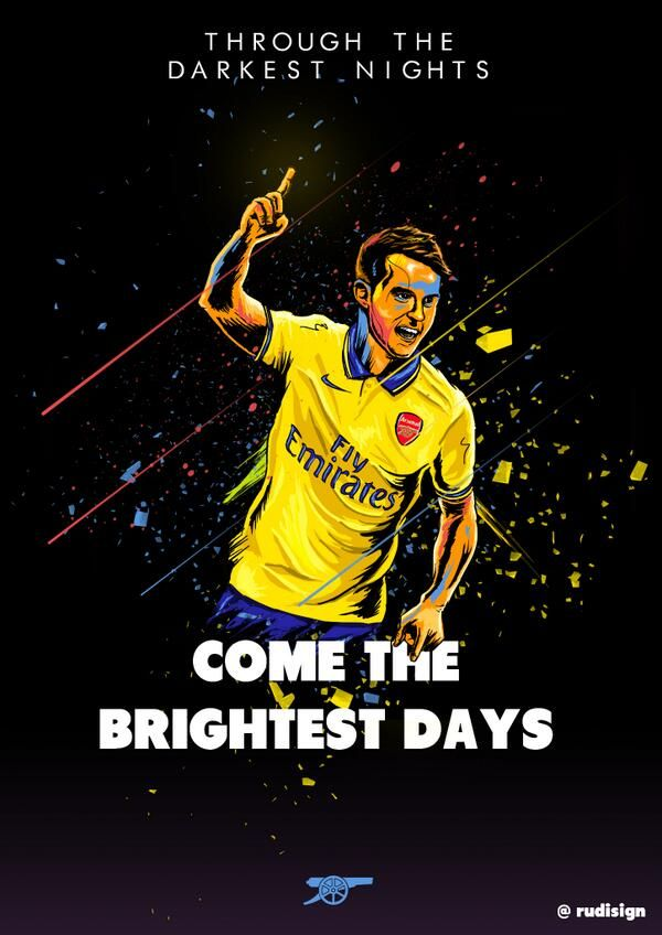 Aaron Ramsey - Arsenal - Through The Darkest Nights Come The Brightest Days