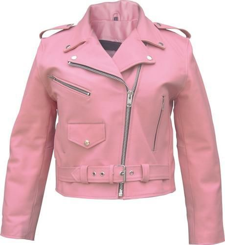 We all wore mc's or denim jackets in high school. Mine was pink.