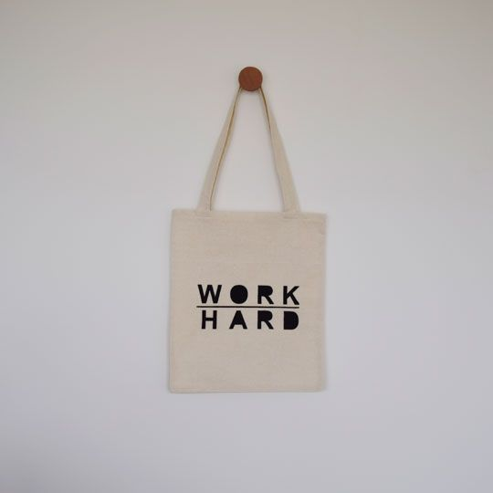 Made By Mee + Co | Work Hard Tote